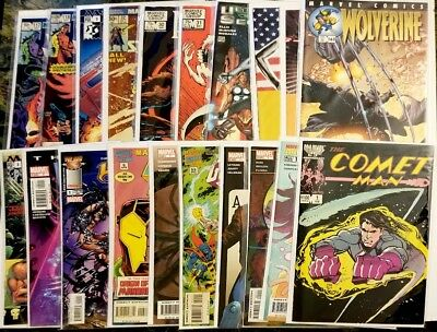 Grab Bag Lot of 20 Marvel Comic Books Copper and Modern Age Awesome Value Pack!!