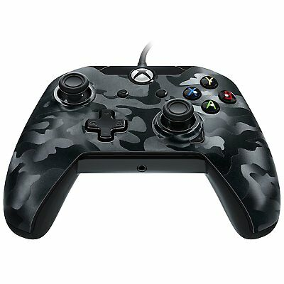 New Wired Controller - Black Camo (Xbox One)