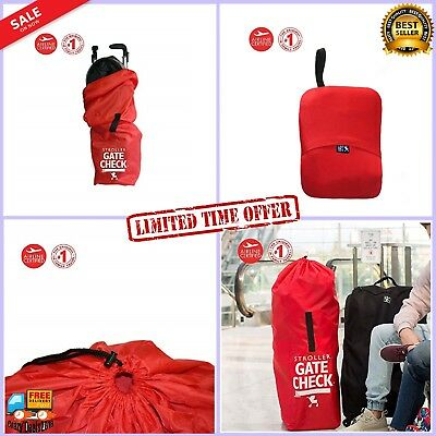 Gate Check Car Seat Protective Cover Travel Carry On Bag Umbrella Strollers