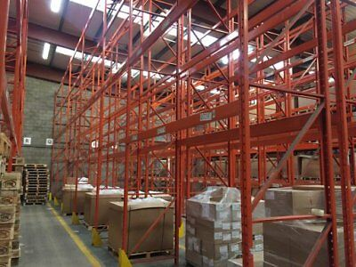 20 Bays Industrial Commercial Warehouse Pallet Racking Shelving 6.2 & 4M High