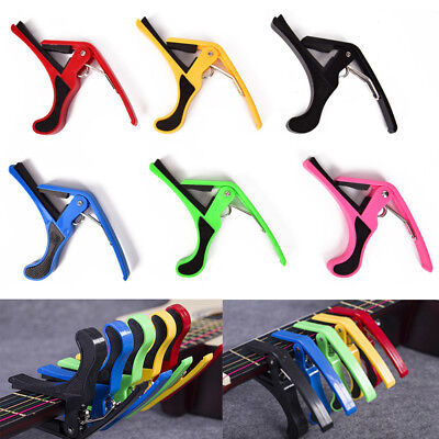 Quick`Change Clamp Key Acoustic Classic Guitar Capo For Electric Acoustic Guitar