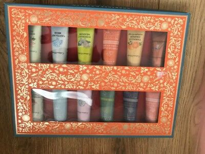 Crabtree & Evelyn Magical Hand Therapy Sampler 12x25g #1038 DAMAGED BOX