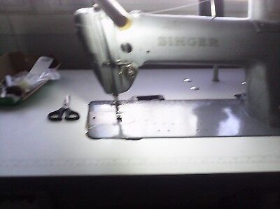 industrial uphlostery leather sewing machine singer 281_1 head only
