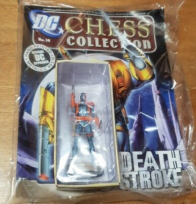 DC Chess collection #36 Death Stroke Eaglemoss