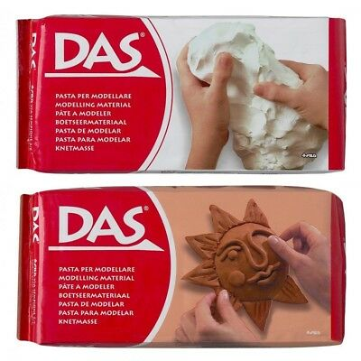 DAS Air Drying Clay - Assorted Sizes and Colours