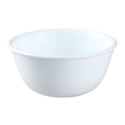"Corelle Livingware WINTER FROST WHITE 12-oz RICE Dessert 5"" Side BOWL *New"