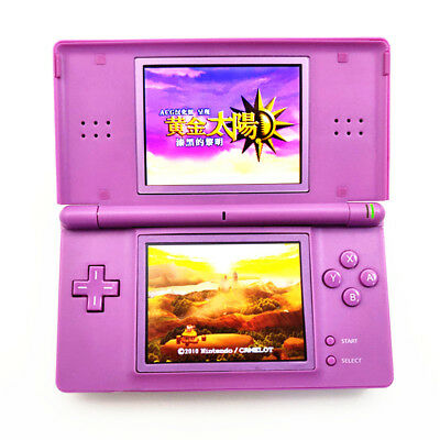 Purple Refurbished Nintendo DS Lite Game Console NDSL Video Game System