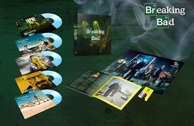 """Soundtrack - Breaking Bad 5x10"""" LP vinyl NUMBERED COLOURED BOX NEW!"""