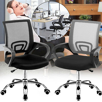 Heavy Duty Ergonomic Mesh Office Chair Adjustable High-Back Comfortable Seat UK