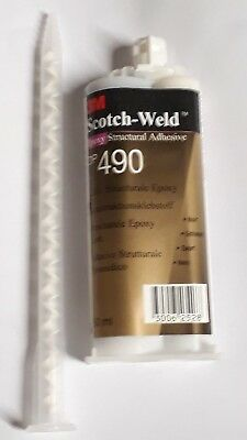 COLLE EPOXY 3M BI-COMPOSANTS DP 490 50 ml