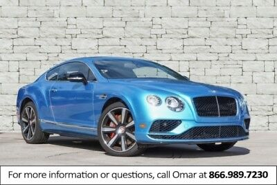 2016 Continental GT V8 S