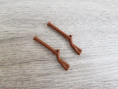 Lego 10 braune reddish brown 2561 Neu Gewehre Flinten Muskete Weapon Musket