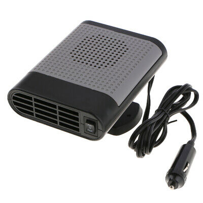 12V 500W Car Heater Cooler Fan Window Defogger Demister Quickly Heat