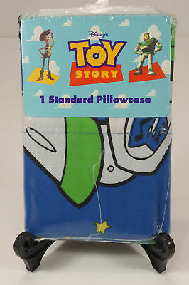 Vintage TOY STORY Pillowcase BUZZ LIGHTYEAR NEW in package Standard dated 1995