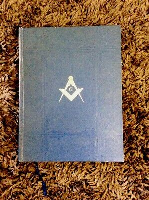 1940 Holy Bible Masonic Edition & The Builders Of Kings Solomon's Temple