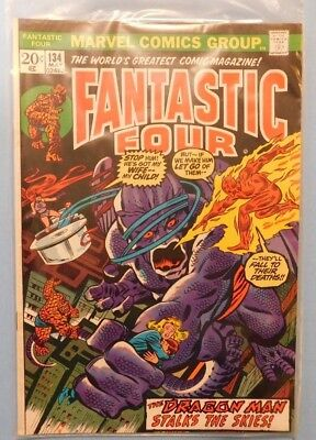 Marvel Comics Group Fantastic Four #134 9.0 VF/NM