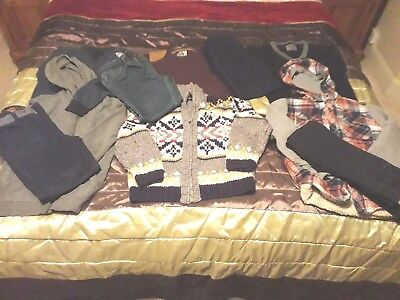 Boys Winter Clothes Bundle Age 8-9 NEXT & Matalan 10 items