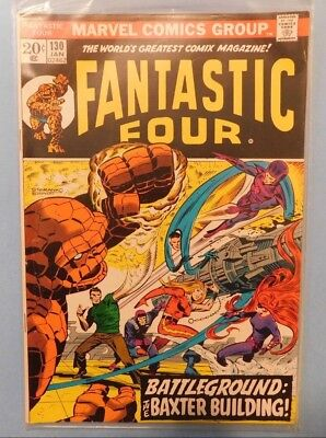 Marvel Comics Group Fantastic Four #130 9.0 VF/NM