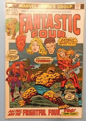 Marvel Comics Group Fantastic Four #129 9.0 VF/NM