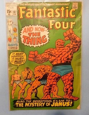 Marvel Comics Group Fantastic Four #107 9.0 VF/NM