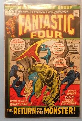 Marvel Comics Group Fantastic Four #124 9.0 VF/NM