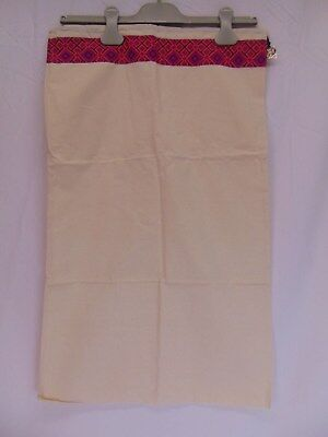 """NEW TORY BURCH DUST BAG FOR SHOES BOOTS BOOTIES OR CLUTCH PURSE 17"""" x 27.5"""""""