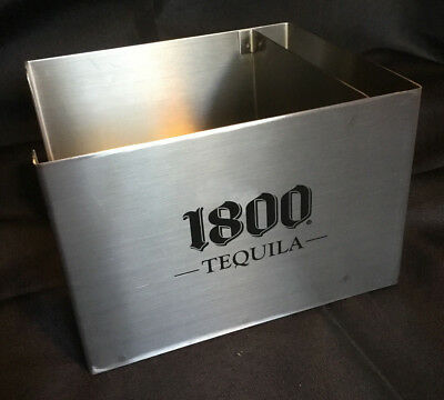 1800 Tequila (By Jose Cuervo) Promo Stainless Barware Bar Caddy Napkin Holder