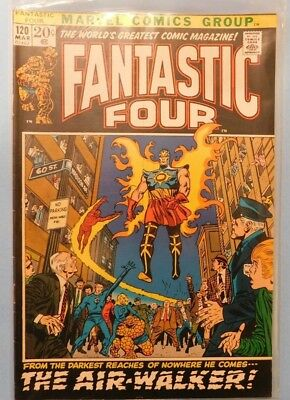 Marvel Comics Group Fantastic Four #120 9.0 VF/NM