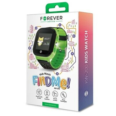 d8951b2290d9bc Montre connectée bluetooth enfant - Kids Watch KW-200 - Vert - Forever