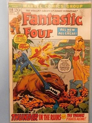 Marvel Comics Group Fantastic Four #118 9.0 VF/NM