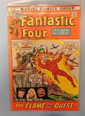 Marvel Comics Group Fantastic Four #117 9.0 VF/NM