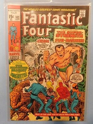 Marvel Comics Group Fantastic Four #102 9.0 VF/NM