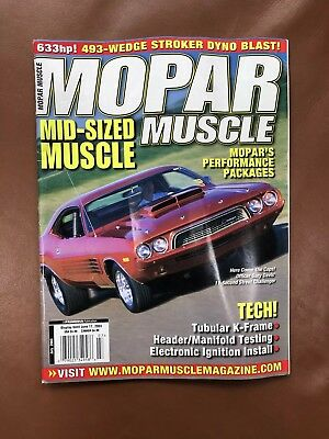 Mopar Muscle Magazine July 2003