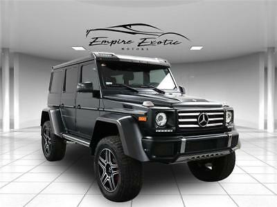 2018 G-Class G 550 G Wagon 4x4² Squared 999 miles!  PPI from MB 2018 Mercedes-Benz G-Class G 550 G Wagon 4x4² Squared 999 miles!  PPI Complete
