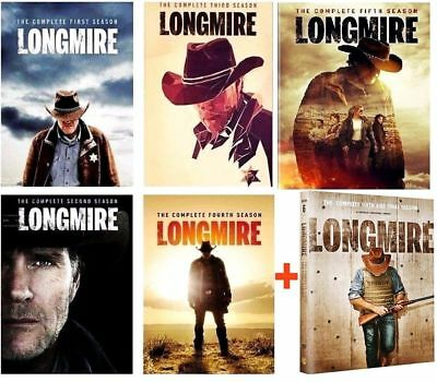 LONGMIRE: The Complete Series Seasons 1-6(DVD  Bundle,2018) NEW 1 2 3 4 5 6