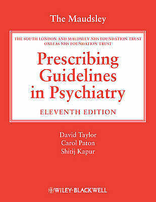 The Maudsley Prescribing Guidelines in Psychiatry, Unknown, New Book