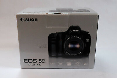 Canon EOS 5D Mark i 12.8MP Digital SLR Camera with Box and Manuals - NO RESERVE