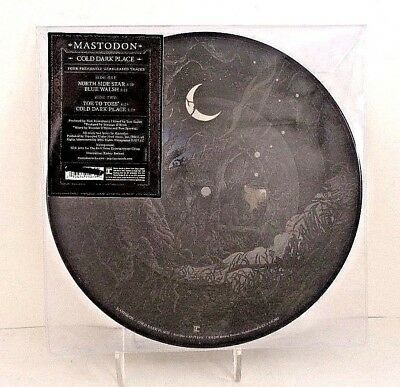 "Mastodon COLD DARK PLACE, 10"" Picture Disc, Limited Ed. Reprise EP (2017) Sealed"