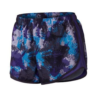 NWT Nike Womens Tempo Purple Dri-Fit Printed Shorts Athletic Plus 3X
