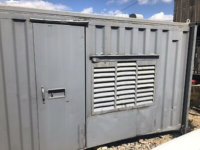 16x8ft Anti Vandal Welfare Container- Kitchen, Toilet, Seating & Generator Store