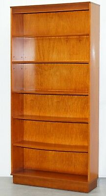Light Mahogany Hand Made In England Vintage Beresford & Hicks Library Bookcase