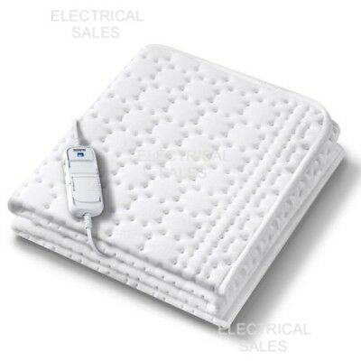 Beurer Allergy Free King Size Electric Heated Underblanket Dual Control 36963