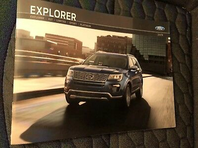 2019 FORD EXPLORER 26-page Original Sales Brochure