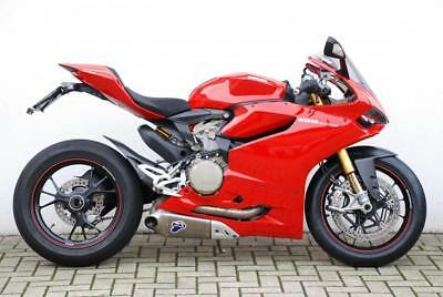 Ducati Panigale 1199S fitted with Termignoni Exhausts