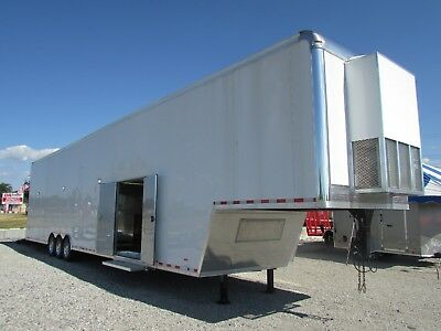 Rc 53' Enclosed Stacker Race 3 Car Trailer *loaded* Save Thousands  @ Dr Trailer