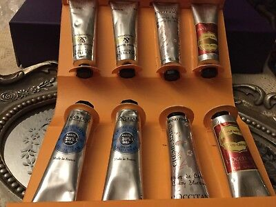 L'Occitane Happy Hands.8 hand Creams.15 ml.each.Made In France.