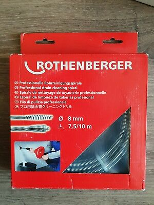 Rothenberger Drain Cleaning Spiral