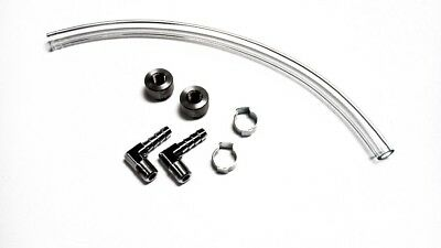 Rullo Cycles Motorcycle Gas Tank Fuel Sight Gauge Chrome