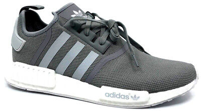 new concept d4141 effb4 ADIDAS NMD R1 Mesh Men's Sneaker Charcoal Grey/White S31503 Size 13