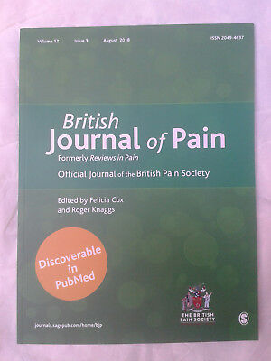 British Journal Of Pain: Official Journal Of The British Pain Society - Aug 2018